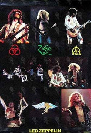 LED ZEPPELIN - Classic Live Photo Poster - 1