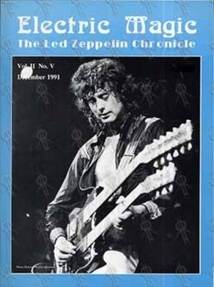 LED ZEPPELIN - 'Electric Magic: Led Zeppelin Chronicle' - Vol II No IV - December 199 - 1