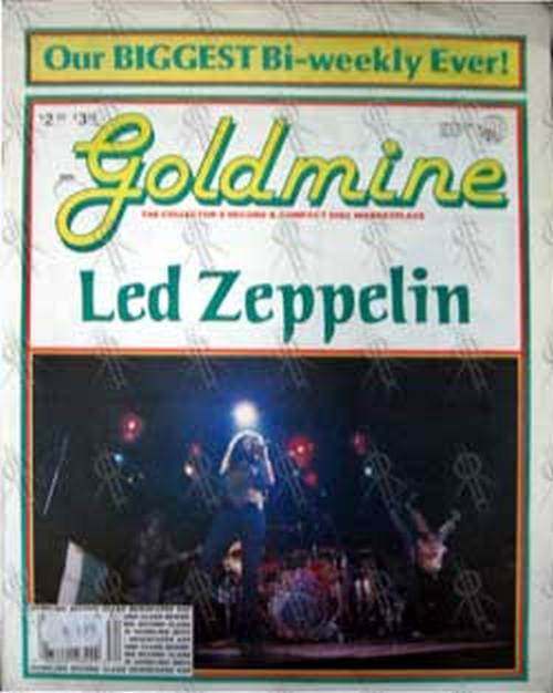 LED ZEPPELIN - 'Goldmine' - Vol. 16 No. 17 - August 24