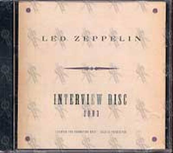 LED ZEPPELIN - Interview Disc 2003 - 1