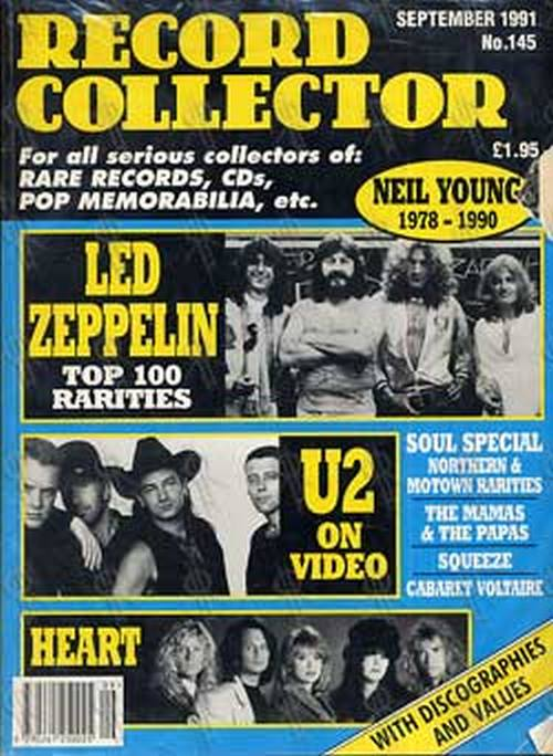 LED ZEPPELIN - 'Record Collector' - No. 145 - September 1991 - 1