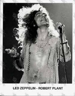 LED ZEPPELIN - Robert Plant Photo - 1