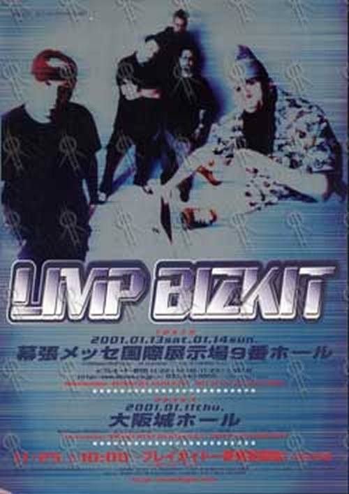 LIMP BIZKIT - January 2001 Tour Mini-Poster Flyer - 1