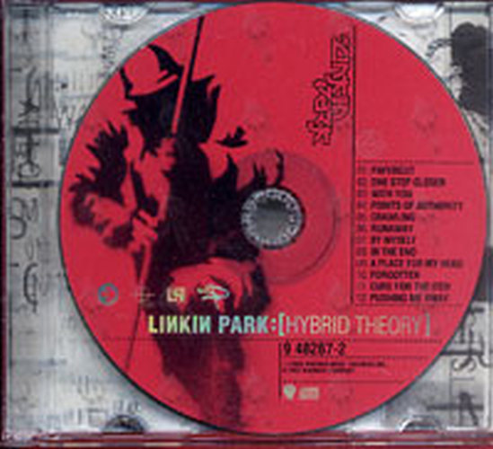 Linkin Park Hybrid Theory Album Cd Rare Records