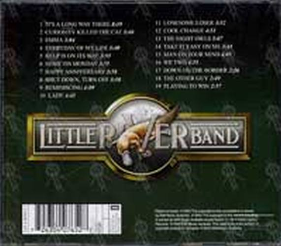 Little River Band The Definitive Collection Album Cd