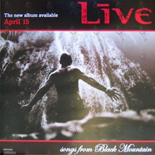 LIVE - 'Songs From Black Mountain' Album Poster - 1