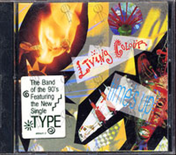 LIVING COLOUR - Time's Up! - 1