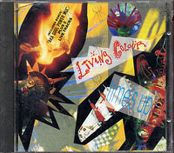 LIVING COLOUR - Time's Up - 1