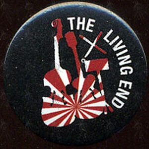 LIVING END-- THE - 'Instrument Silhouette' Design Badge - 1