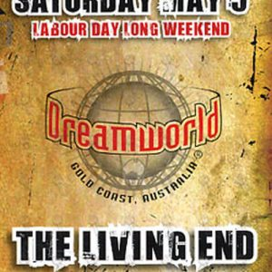 LIVING END-- THE - 'Maynia' Saturday May 5 2007 Show Flyer - 1
