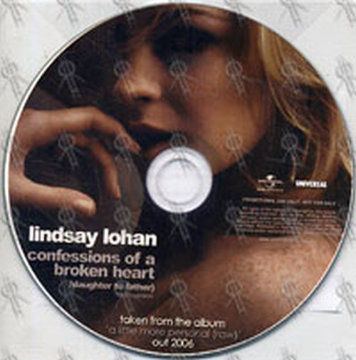 LOHAN, LINDSAY - Confessions Of A Broken Heart (Daughter ...
