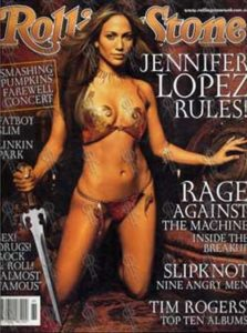 LOPEZ-- JENNIFER - 'Rolling Stone' - March 2001 - Jennifer Lopez On Cover - 1