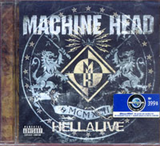 MACHINE HEAD - Hellalive - 1