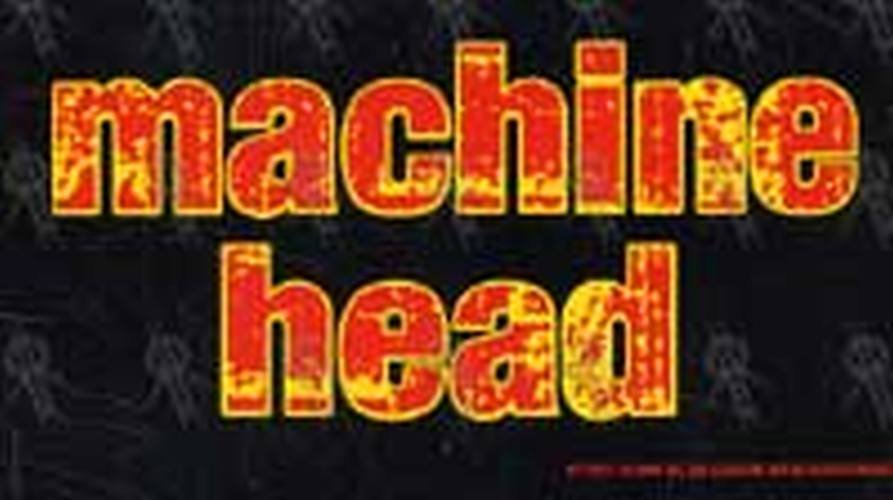 MACHINE HEAD - 'Machine Head' Sticker - 1