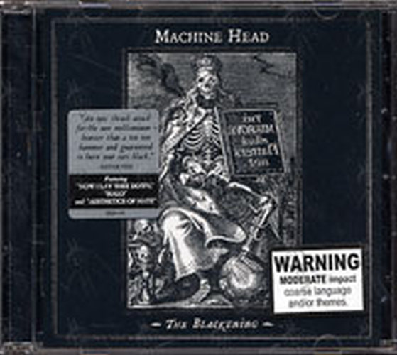 MACHINE HEAD - The Blackening - 1