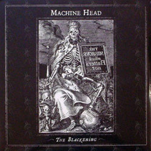 Machine Head The Blackening 12 Inch Lp Vinyl Rare