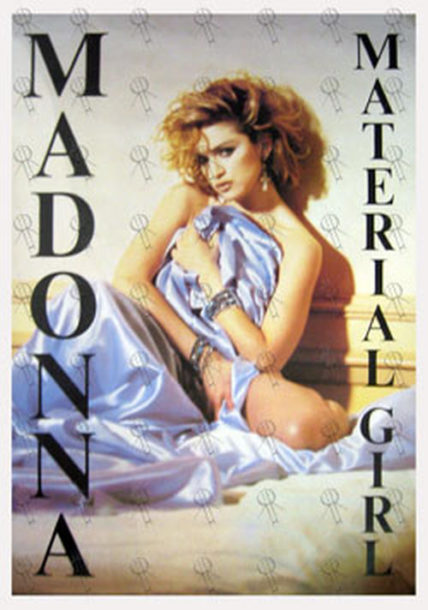 Madonna Material Girl Poster Posters Regular Sizes
