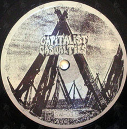 Capitalist Casualties / Dread, The - Split Personality EP