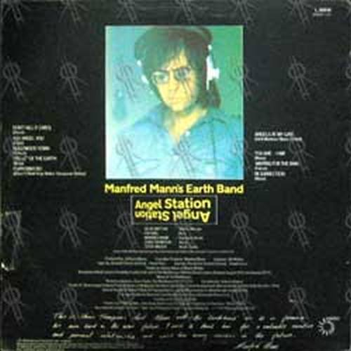 MANN'S-- MANFRED EARTH BAND - Angel Station - 2