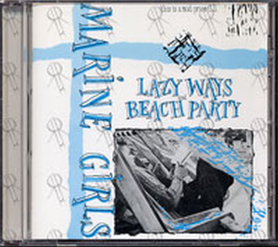 MARINE GIRLS - Lazy Ways/Beach Party - 1