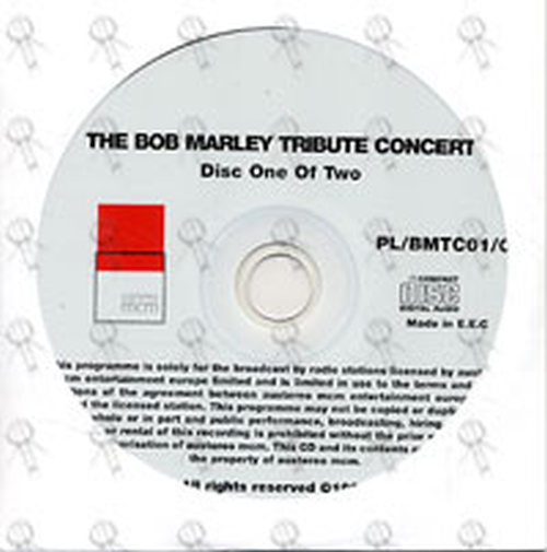 MARLEY-- BOB - Exclusive Radio Special: The Bob Marley Tribute Concert - 1