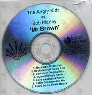 MARLEY-- BOB - Mr Brown - 1