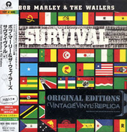 MARLEY-- BOB & THE WAILERS - Survival - 1