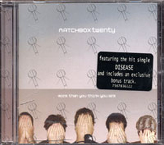 MATCHBOX 20 - More Than You Think You Are - 1