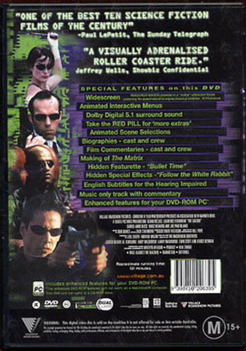 matrix the the matrix dvds rare records