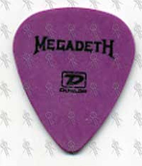 MEGADETH - Glen Drover 2005 Signature Guitar Pick - 1