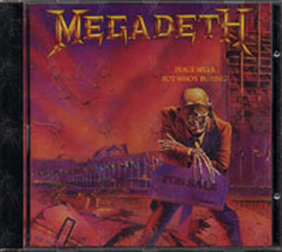 Megadeth Peace Sells But Who S Buying Album Cd