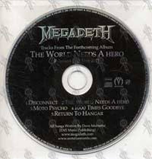MEGADETH - The World Needs A Hero - 1