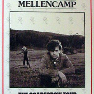 MELLENCAMP-- JOHN COUGAR - The Scarecrow Tour - 1