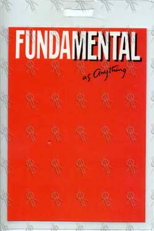 MENTAL AS ANYTHING - 'Fundamental' Laminate - 1