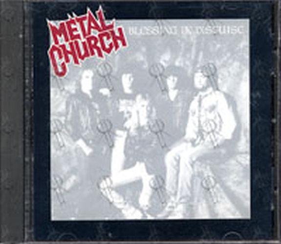 METAL CHURCH - Blessing In Disguise - 1