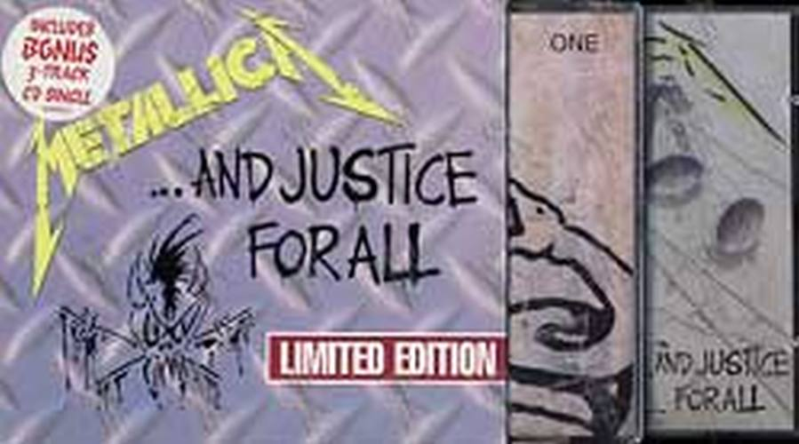 metallica and justice for all limited edition album cd rare records. Black Bedroom Furniture Sets. Home Design Ideas
