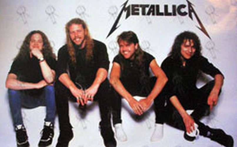 Metallica And Justice For All Era Band Photo Poster
