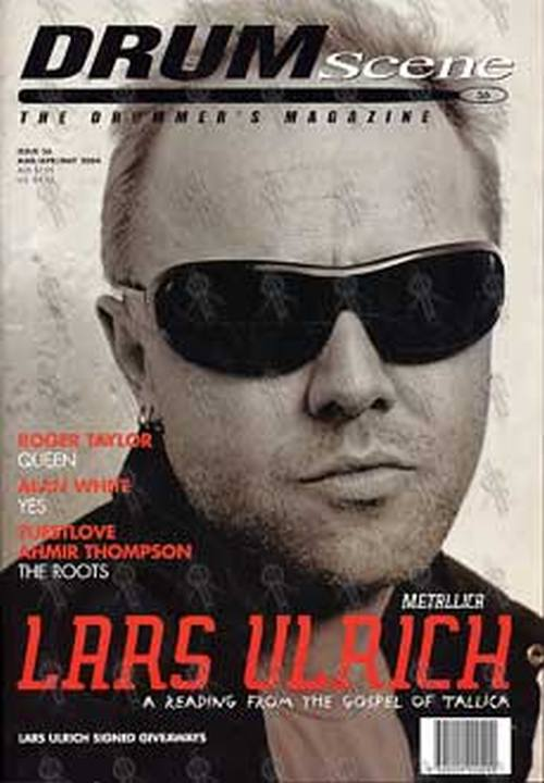 METALLICA - 'Drum Scene' - Mar/Apr/May 2004 - Lars Ulrich On Cover - 1