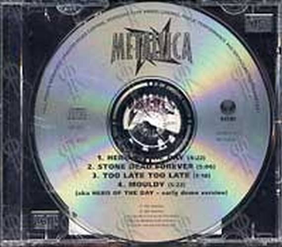 METALLICA - Hero Of The Day (Part 2 of a 2CD Set) - 3