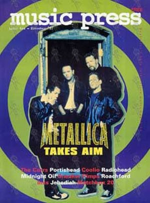 METALLICA - 'Music Press' - November 1997 - Metallica On Cover - 1
