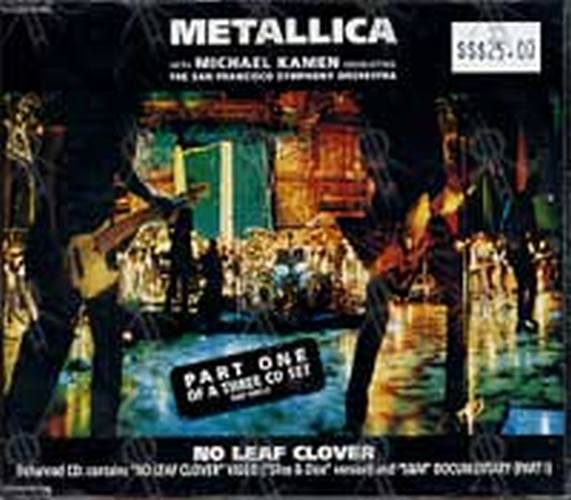 METALLICA - No Leaf Clover (Part 1 of a 3CD Set) - 1