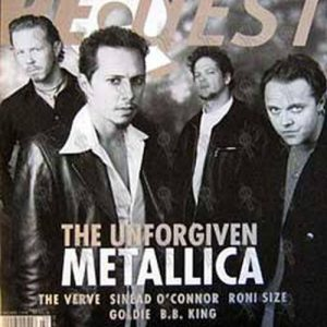 METALLICA - 'Request' - February 1998 - Metallica On Cover - 1