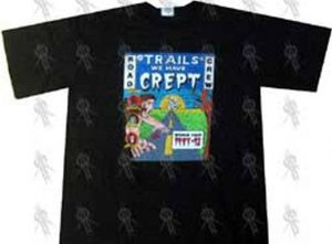METALLICA - Trails We Have Crept 1991-92 World Tour Road Crew T-Shirt - 1