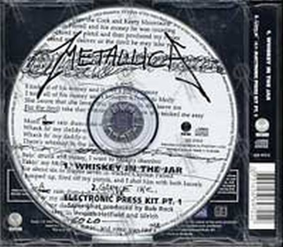 Metallica Whiskey In The Jar Part 1 Of A 3cd Set Cd Single