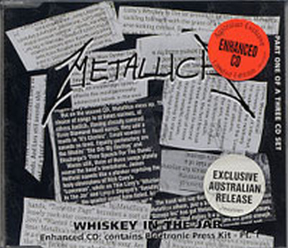 METALLICA - Whiskey In The Jar (Part 1 of a 3CD Set) - 1