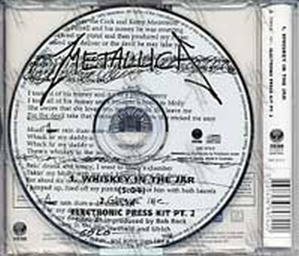 METALLICA - Whiskey In The Jar (Part 2 of a 3CD Set) - 2