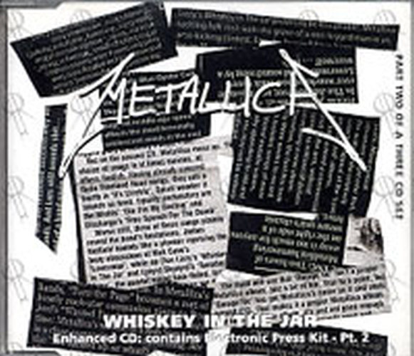 Metallica Whiskey In The Jar Part 2 Of A 3cd Set Cd Single