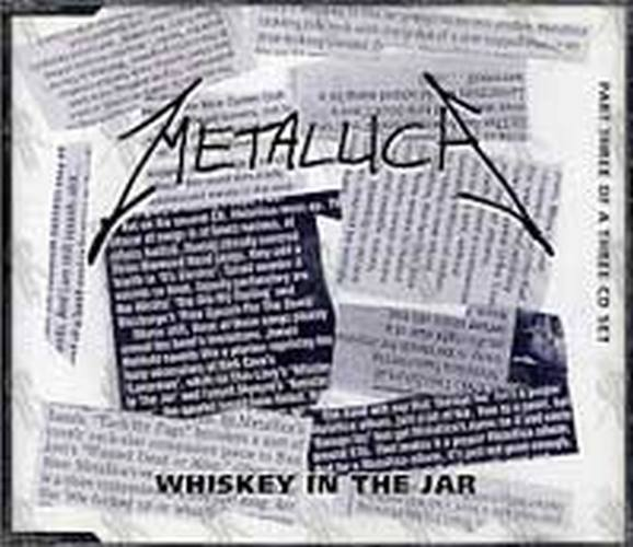 Metallica Whiskey In The Jar Part 3 Of A 3cd Set Cd Single