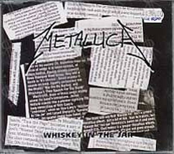 Metallica Whiskey In The Jar Cd Single Ep Rare Records