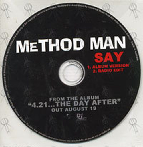 METHOD MAN - Say - 1
